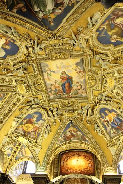 Vinylová Tapeta Santa Maria Maggiore v Římě, Itálie - Evropská města