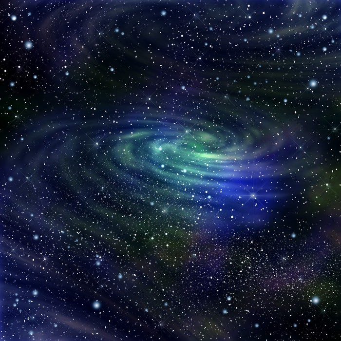 Vinylová Tapeta Space galaxie image, ilustrace - Vesmír