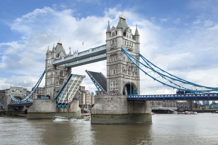 papier peint tower bridge londres pixers nous vivons. Black Bedroom Furniture Sets. Home Design Ideas