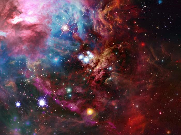vinyl wall mural space nebula pixersize com