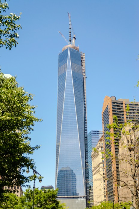 Vinylová Tapeta One World Trade Center, aka Freedom Tower - Americká města