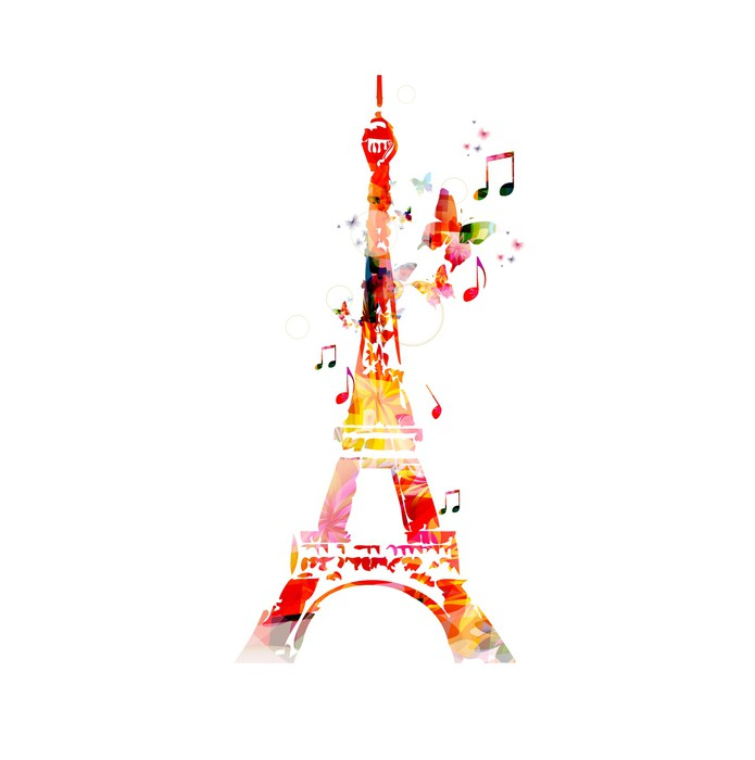 Colorful vector eiffel tower background with butterflies wall mural colorful vector eiffel tower background with butterflies vinyl wall mural europe thecheapjerseys Gallery
