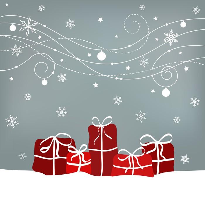 Vinylová Tapeta Vánoční dárky - Mezinárodní svátky