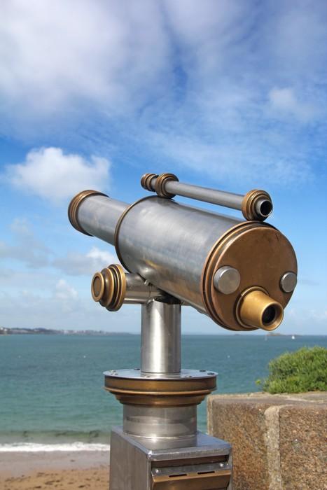 Vinylová Tapeta Panoramatický dalekohled - Prázdniny