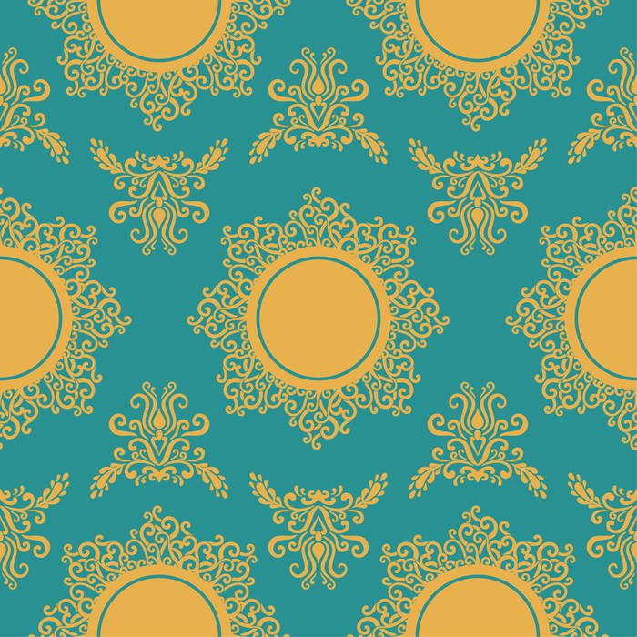 Vinylová Tapeta Sun Pattern -