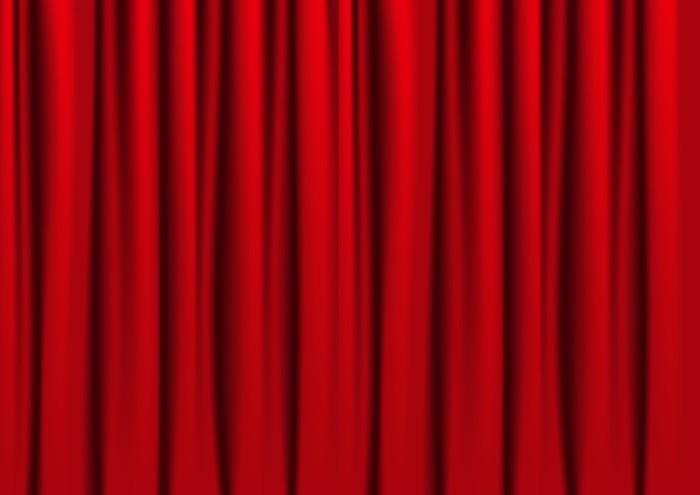 røde gardiner Røde gardiner Fototapet • Pixers®   Vi lever for forandringer røde gardiner