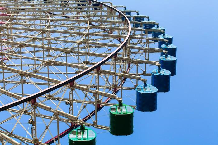 Vinylová Tapeta Ferris Wheel - Abstraktní
