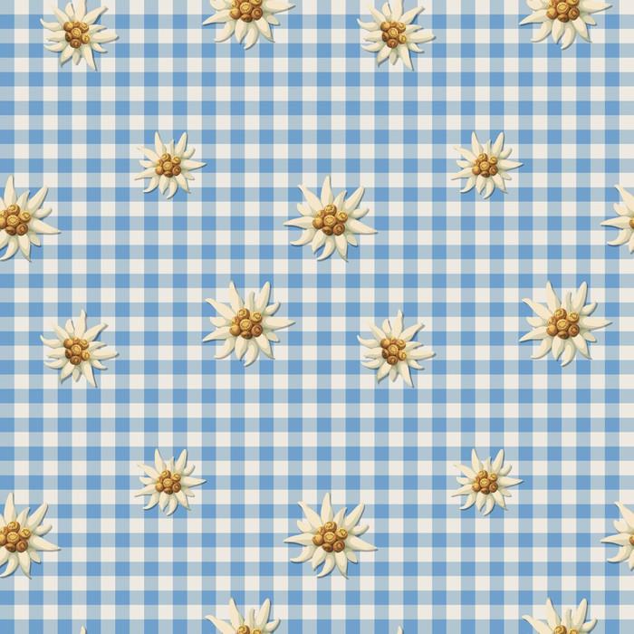 Sticker carrelage motif alpin avec edelweiss pixers for Carrelage avec motif