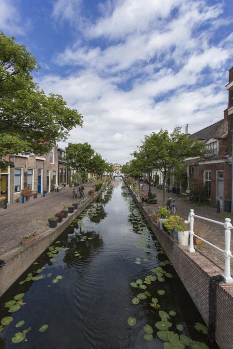 Vinylová Tapeta Canale Olandese Laiden - Prázdniny