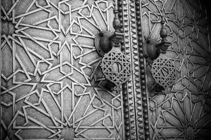 poster antike t ren marokko pixers wir leben um zu. Black Bedroom Furniture Sets. Home Design Ideas