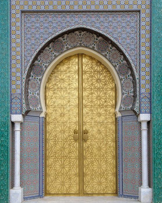 Sticker Portes Anciennes Maroc Pixers 174 Nous Vivons