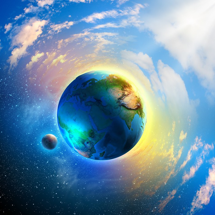 Planet Earth Wall Mural Pixers 174 We Live To Change