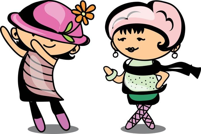 Vinylová Tapeta Cute cartoon děti - Děti