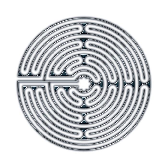 Tableau sur toile labyrinthe de chartres pixers nous - Restaurant japonais chartres ...
