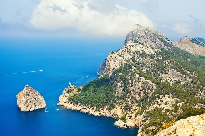 Nálepka Pixerstick Cape Formentor, Mallorca - Evropa