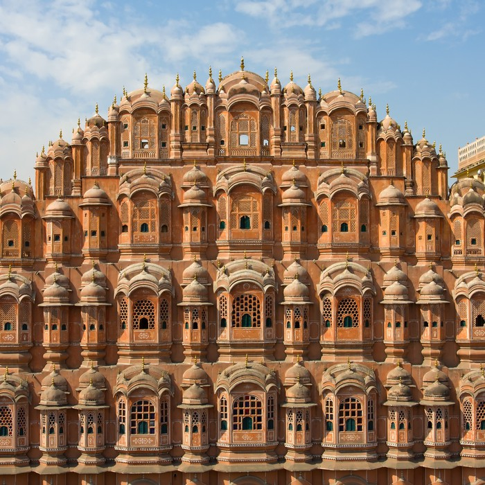 Hawa mahal is a palace in jaipur india wall mural for Wallpaper for home walls jaipur