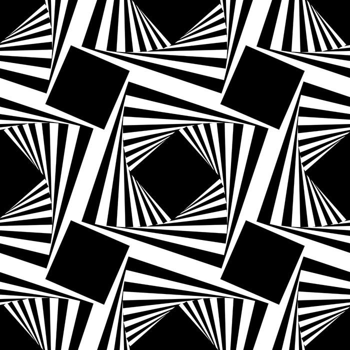 Vinylová Tapeta Bezešvé vzor s čtverců, vektorové ilustrace - Pozadí