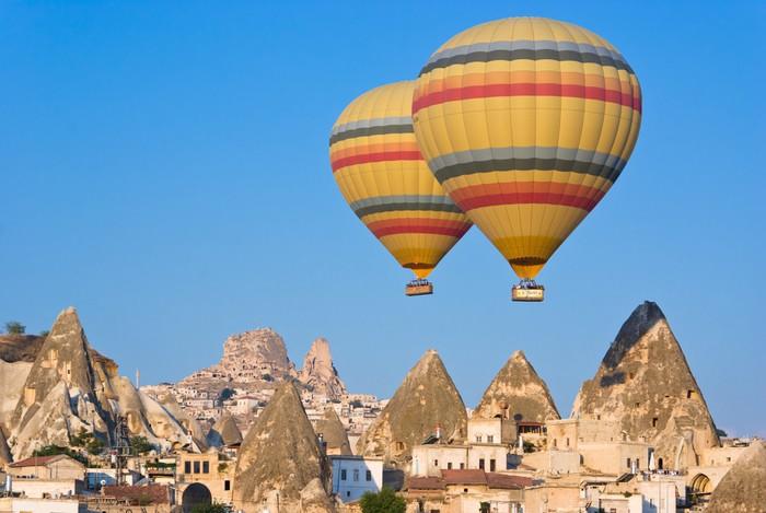 Vinylová Tapeta Cappadocia, Turecko - Střední Východ