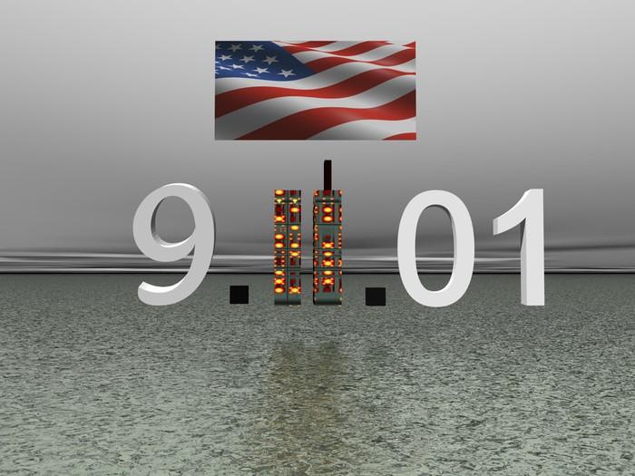 Vinyl Fotobehang World Trade Center september 11 - Overige