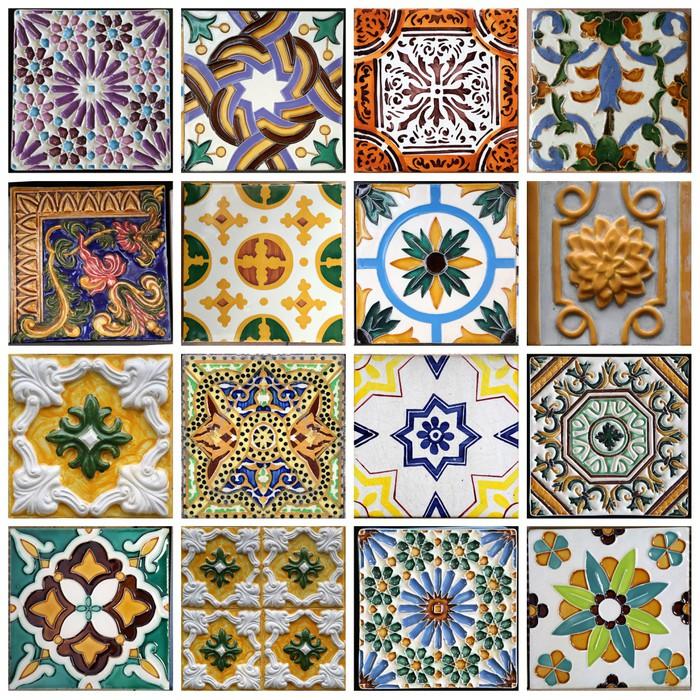 Model Cuisine Tunisienne : Sticker carrelage traditionnel de porto portugal pixers