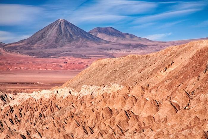 Vinylová Tapeta Pohled z Death Valley, Chile - Život