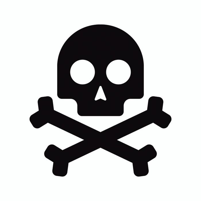 vinilo pixerstick icono aislado calavera pirata  u2022 pixers u00ae vivimos para cambiar halloween clipart black and white halloween clipart backgrounds