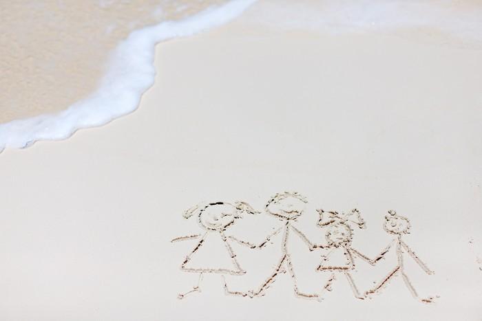 Vinylová Tapeta Rodinná dovolená - Prázdniny