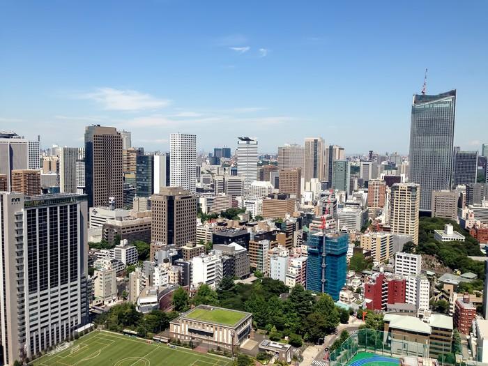 Nálepka Pixerstick Roppongi, Minato, Tokio - Asijská města