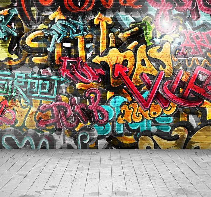 Naklejka Pixerstick Graffiti na ścianie - Przeznaczenia