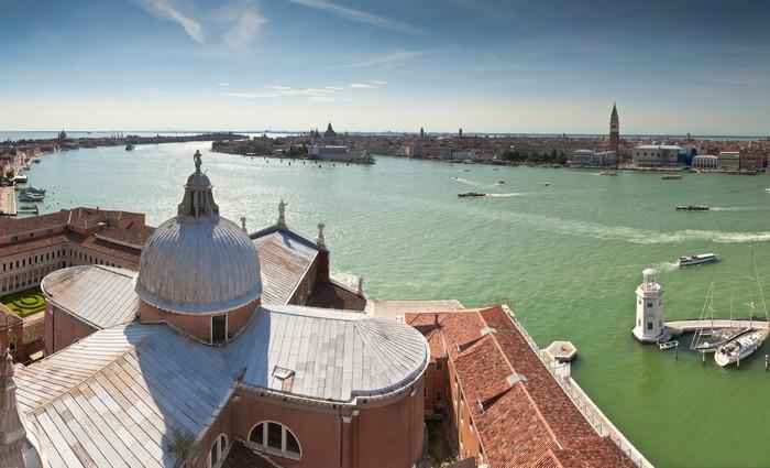 Papel de Parede em Vinil San Giorgio, Venice. - Cidades europeias
