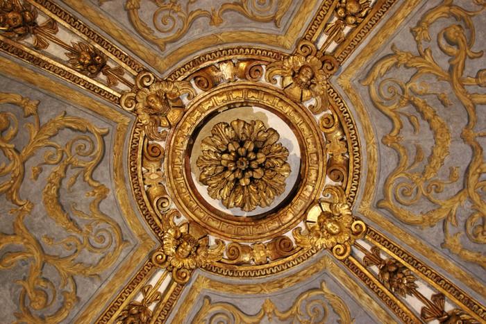 Carta da parati una decorazione del soffitto di palazzo for Carta parati torino