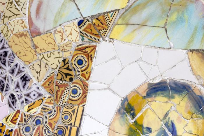 Vinylová Tapeta Gaudího dekorativní - Evropská města