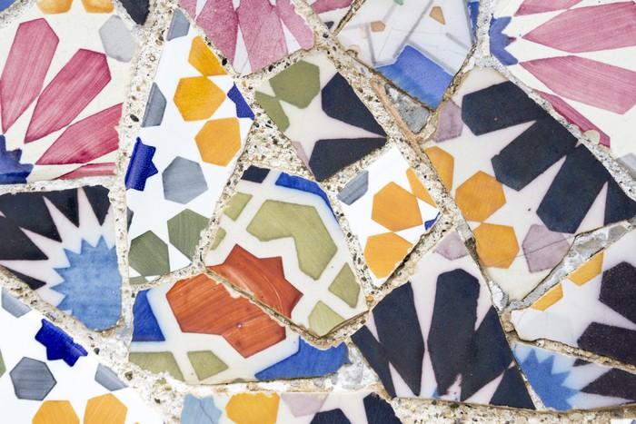 Carta da parati decorative di gaud pixers viviamo for Carte parati decorative