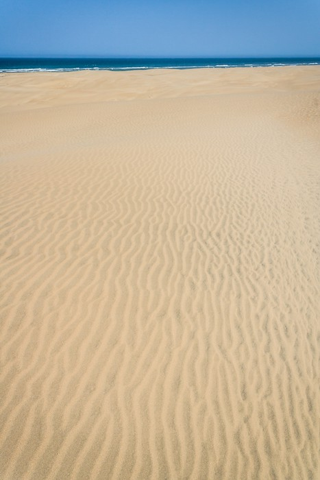 Vinylová Tapeta Písečné duny a oceánů - Prázdniny