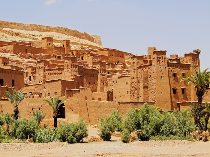 Vinylová fototapeta Ait Benhaddou, Maroko - Vinylová fototapeta