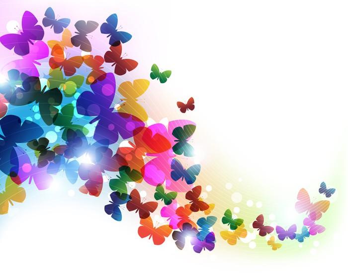 Купить бабочку с цветами в Москве в магазине BeMad