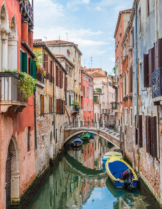 Vinylová Tapeta Canal v Benátkách, Itálie - Témata