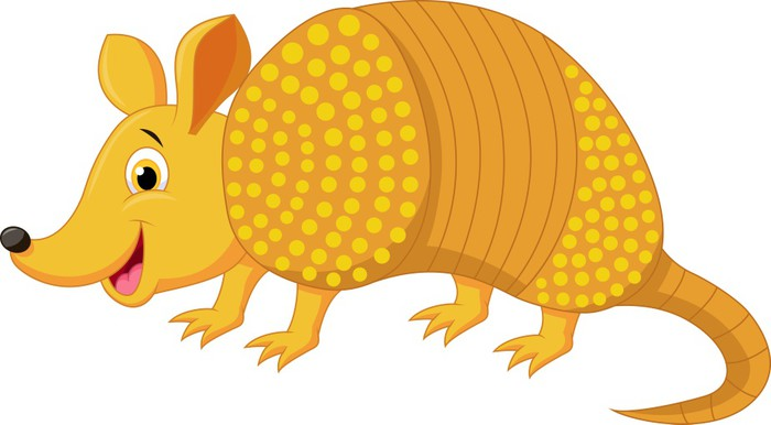 fotomural cute dibujos animados armadillo  u2022 pixers clipart pineapples and coconuts clipart pineapple and palm trees