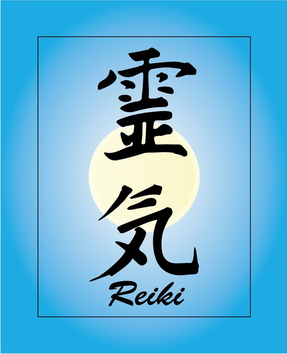 Reiki Symbol With Background Wall Mural Pixers We Live To Change