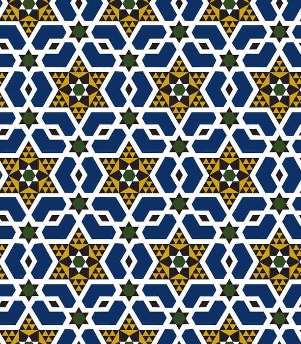Vinylová Tapeta Bezešvé islámské geometrický vzor - Hvězdičky