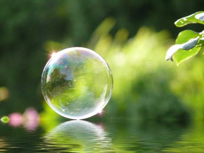 Vinylová Tapeta Bubble + voda efekt - Prodej