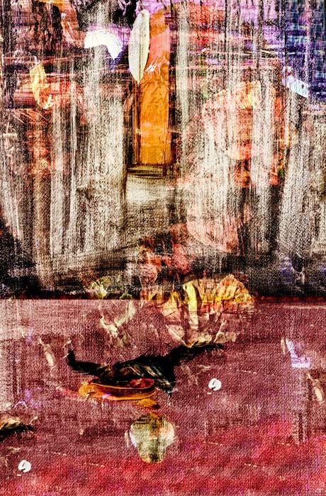 Vinylová Tapeta Původní malba na papíře - Umění a tvorba