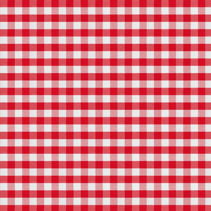 Red Checkered Fabric Tablecloth Vinyl Wall Mural   Textures