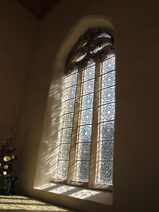 Nálepka Pixerstick Církevní okno - Veřejné budovy