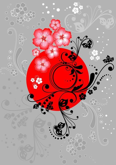 Vinylová fototapeta Sakura květ - Vinylová fototapeta