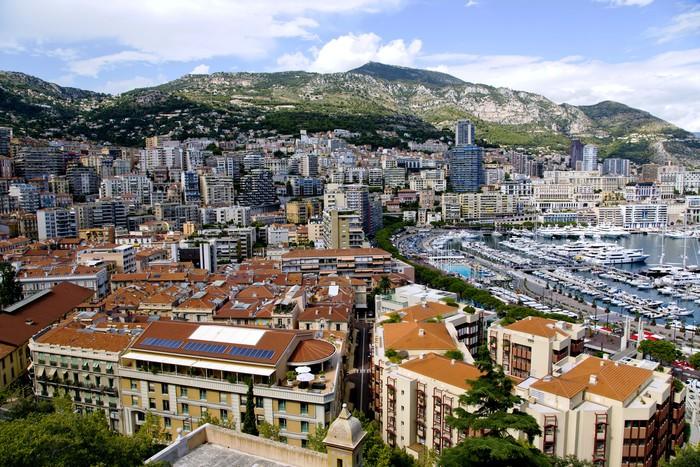 Vinylová Tapeta Monte Carlo přístav panorama přístav v knížectví Monako - Evropa