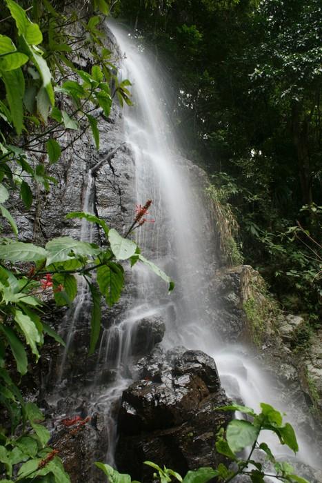 Vinylová Tapeta Vodopád v Puerto Rico - Amerika