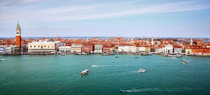 Vinylová Tapeta Panorama z Benátek - Témata