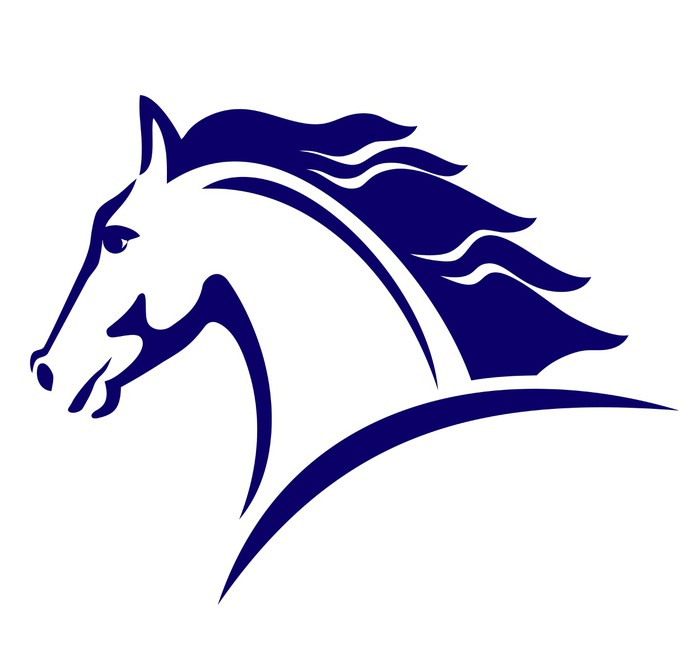 Horse Symbol Template For The Logo Sticker Pixers We Live To