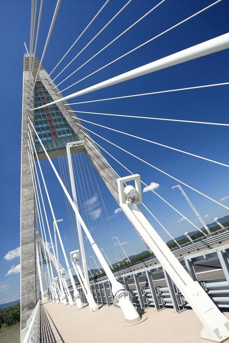 Vinylová Tapeta Detail mostu (Maďarsko) - Evropa